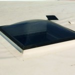 Replacement Skylight White TPO Roof