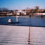 Black Rubber Membrane Roof System in Madison, WI